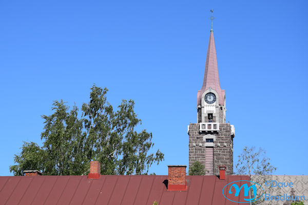 Raahe Church from Pekkatori